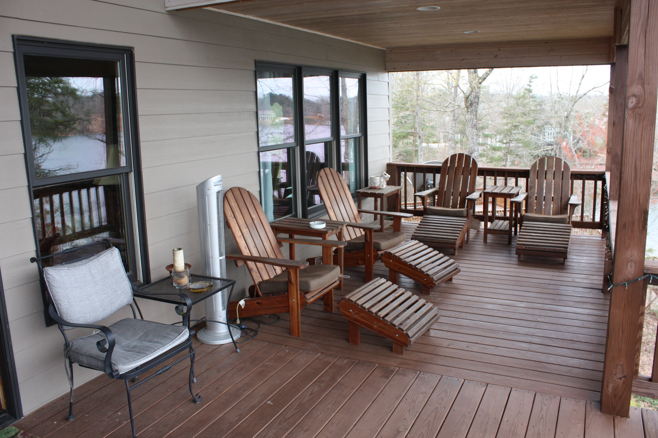 Back Porch at Avalon and Smith Lake Rentals and Sales