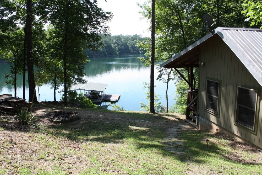 Soliloquy Cabin on Ryan Creek with Smith Lake Rentals and Sales
