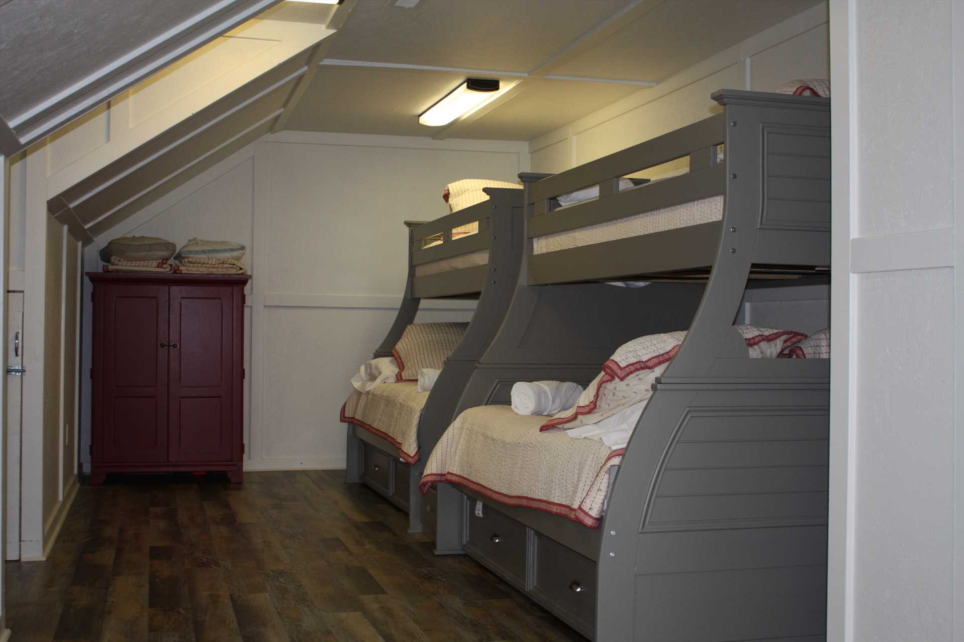Upstair Bunk bed room