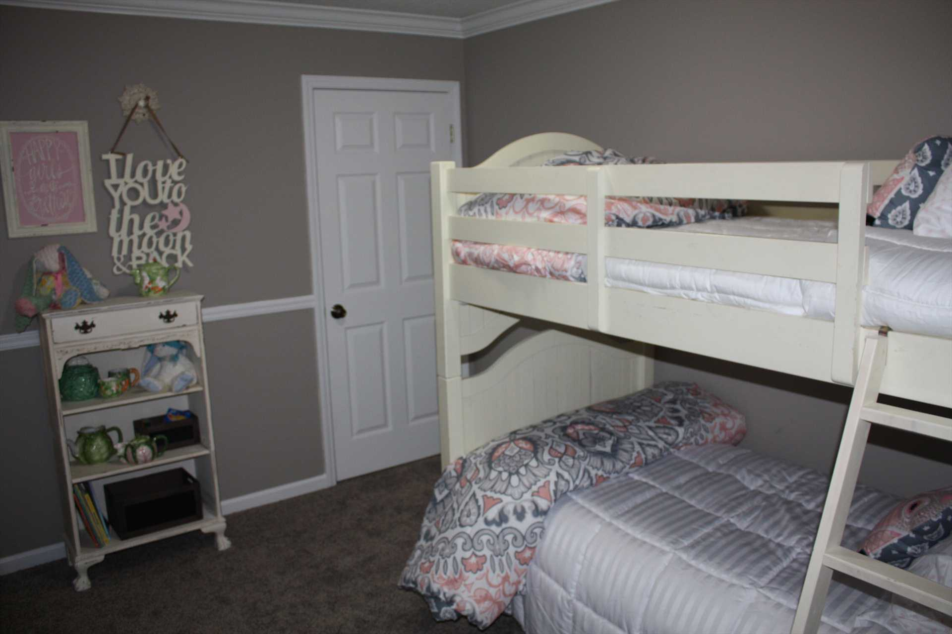 Bedroom 4 - bunk beds